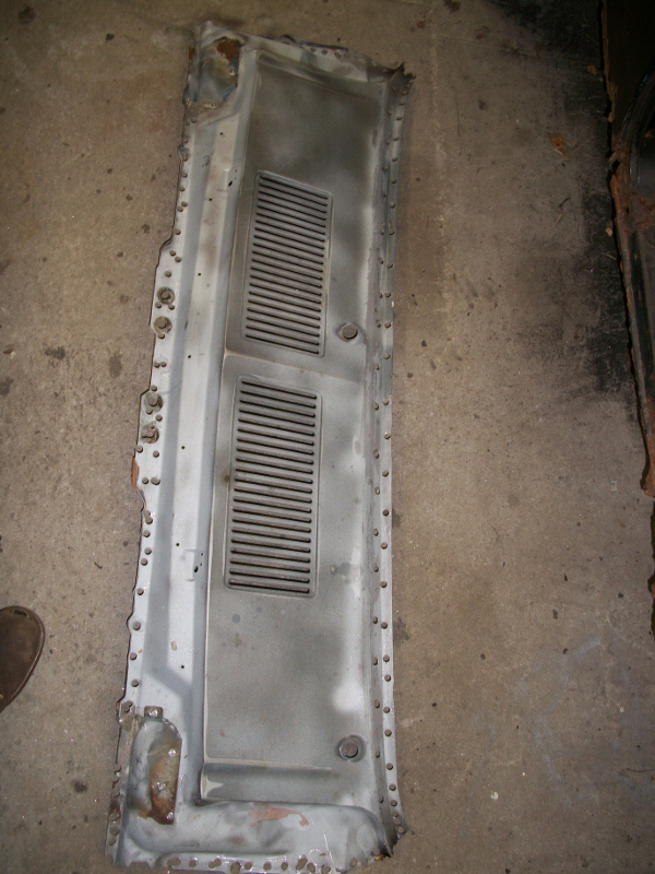 Cowl panel replacement on a mustang maine