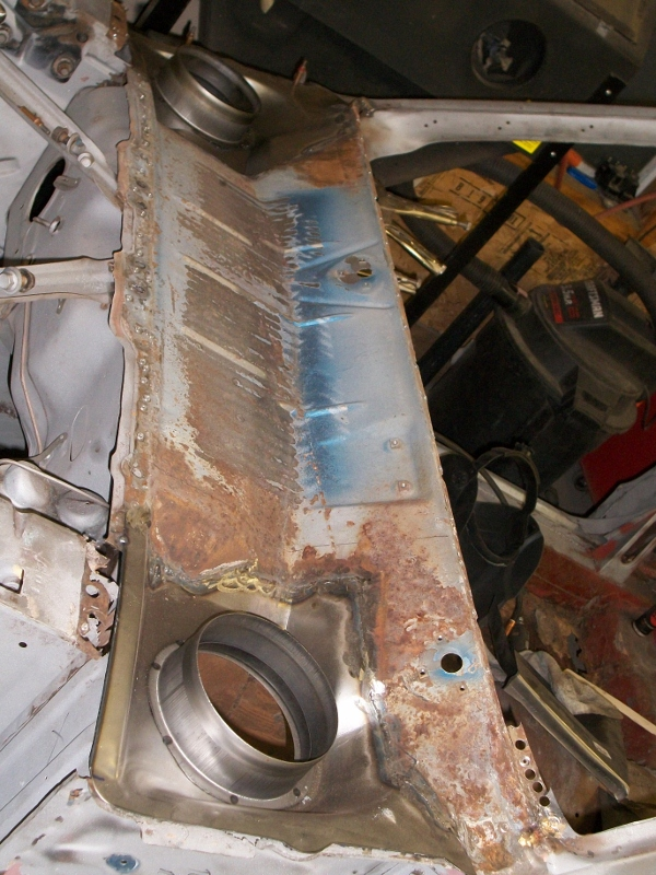 cowl panel replacement    mustang maine mustang