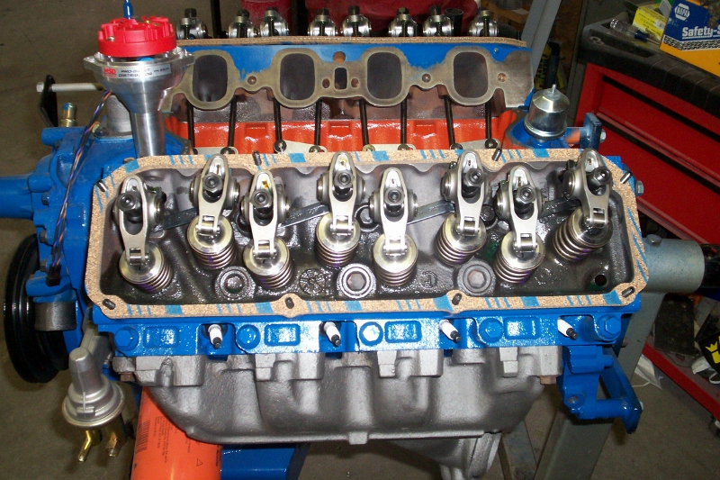 Build A Dodge Truck >> 351c motor build | Maine Mustang